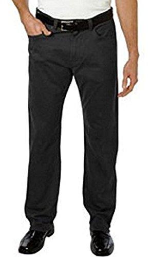 Kirkland Signature Men's 5 Pocket Brushed Cotton Straight Leg Jean (Brushed Cotton Jeans)