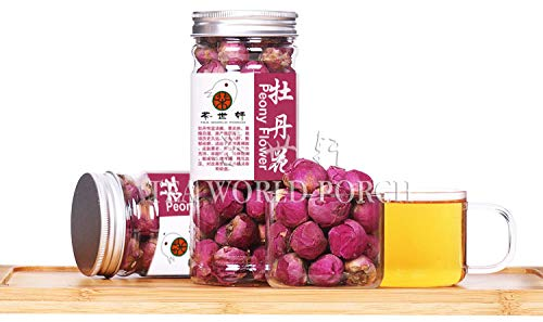 Scented tea Peony Flower Tea Pink Fragrance Ball Herbal Medicine Premium Tea Loss lose weight 50g Slimming Beauty skin care by Plant Gift