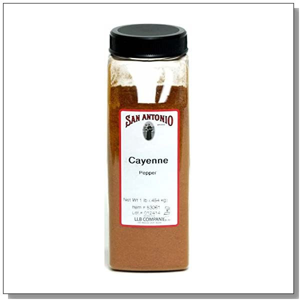 1-Pound Ground Cayenne Pepper Powder 40000 Heat Units