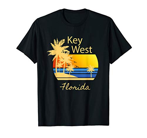 Key West Sunset Original Florida Beach Novelty Tshirt