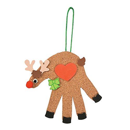 Fun Express Handprint Reindeer Craft -