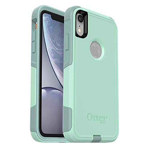 Aqua Case - OtterBox Commuter Series Case for iPhone XR - Retail Packaging - Ocean Way (Aqua SAIL/Aquifer)