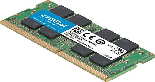 Crucial 16GB DDR4 SDRAM Memory Module – 16 GB – DDR4-2666/PC4-21300 DDR4 SDRAM – CL19-1.20 V – ECC – Unbuffered – 260-pin – SoDIMM