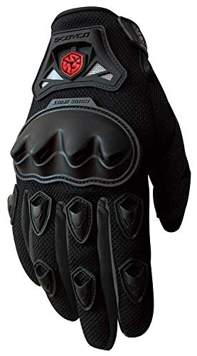 Motorcycle Full-Finger Gloves Sporty Full-Finger Anti-Slip Motorcycle Gloves
