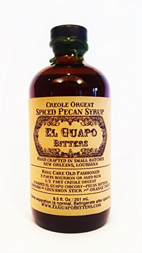 El Guapo Bitters Creole Orgeat - Spiced Pecan Syrup (8.5 ()