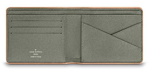 Amazon.com: Louis-Vuitton M63297 - Monedero de titanio: Clothing