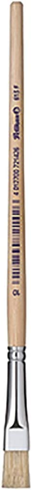 613F//8 Pelikan 721415 Pack de 12 pinceles de cerda