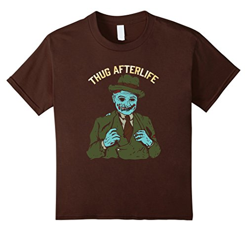 Kids The Thug Afterlife Halloween Zombie T-Shirt 4 (Young Thug Halloween Costumes)