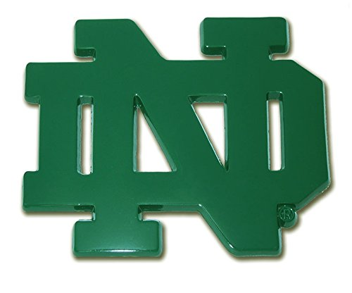 (The University of Notre Dame METAL Auto Emblem - Many Different Colors Available!)