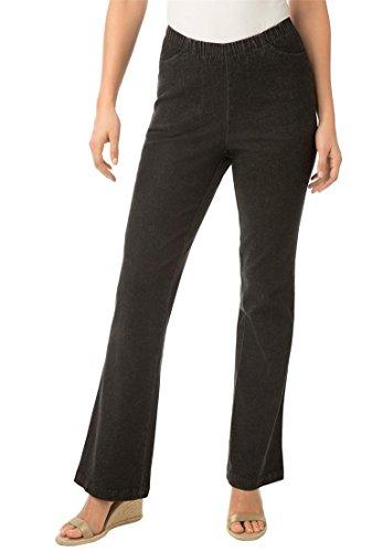 Black Plus Bootcut Jean - 2