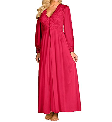 Shadowline Silhouette 54 Inch Coat (71737) L/Red