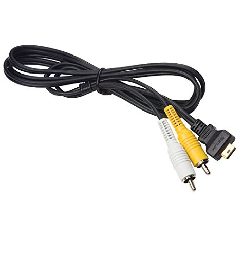 Casio EMC-3A AV Cable for Exilim EX-Z60 EX-Z70 EX-Z1000 EX-S770 EX-S600 EX-Z850