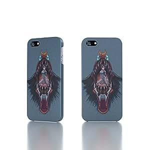 Apple iPhone 5 / 5S Case - The Best 3D Full Wrap iPhone Case - glasses neon genesis evangelion plugsuit makinami mari illustrious eva