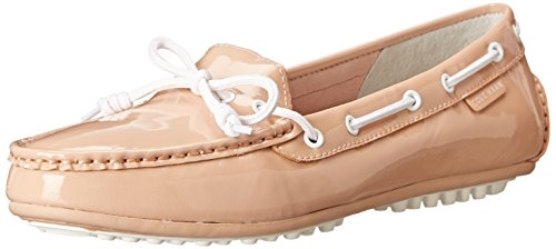 Cole Haan Women's Grant Escape Slip-On Loafer, Maple Sugar Patent, 9 B - Cole Women Driving Shoes Haan