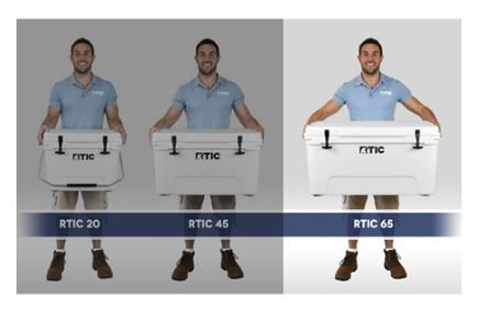 RTIC Cooler (RTIC 65 White) by RTIC (Image #2)