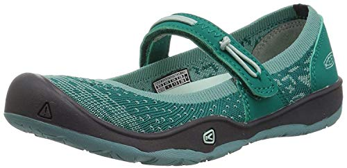 KEEN Moxie Mary Jane Hiking Shoe, Wasabi/Parasailing, 3 M US