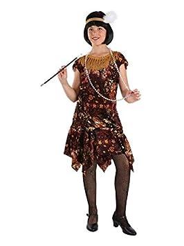 DISBACANAL Disfraz Charleston niña - Único, 12 años: Amazon ...