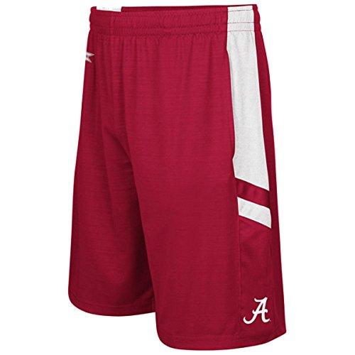 Colosseum Men's NCAA-Setter Shorts-Alabama Crimson Tide-Crimson-XL