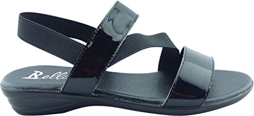 Bellini Chance Mujeres Sandal Black Patent