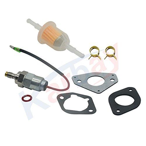 - Karbay Engines Kit Repair Fuel Shut-Off Solenoid Valve for Kohler 24 757 22-S