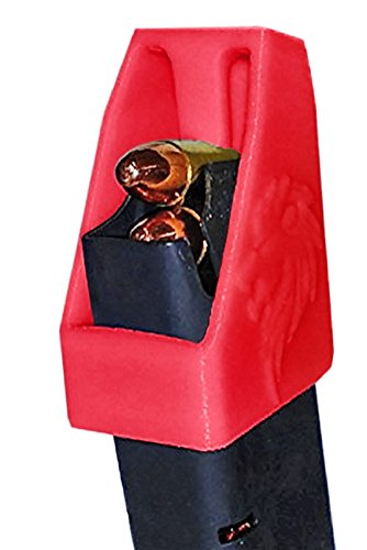 Made in the USA! RAE-701 Speedloader Pistol Magazine Loader, Clip Assist for 9mm and Other Double and Single Stack (Red)