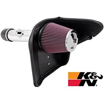 K&N 69-4520TP 69 Series Typhoon Polished Performance Intake Kit