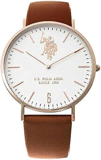 Reloj US Polo ASSN. Rebel Hombre Rosè Solotempo Slim usp4361rg