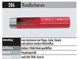 escoplos redondos 286de 2mm 20g
