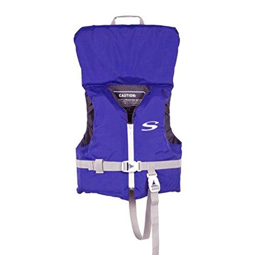 Moonker Begin to Swim Classic Swim Vest Infant Baby Boys Girls Float Swimming Life Tie Jacket Safety Swimwear 9-24M (Blue)