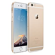 ESR iPhone 6 Case, iPhone 6 Case Clear, ESR iPhone 6s Case Soft TPU Gel [Ultra Clear] [Slim Fit] [0.8mm Ultra Thin] Protective Skin for iPhone 6s/iPhone 6 (Clear)