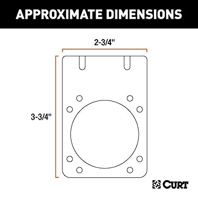 CURT 58290 Vehicle-Side Trailer Wiring Harness Mounting Bracket for 7-Way RV Blade: Automotive
