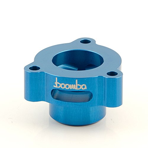 Boomba Racing BOV Blow Off Valve ADAPTOR BLUE for 2014+ Ford Fiesta ST - Blow Off Adaptor