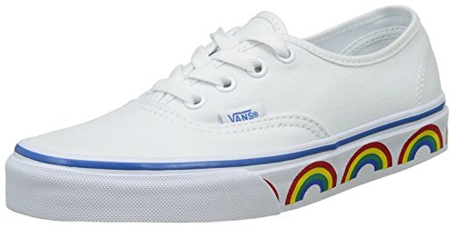 f9075b6408 Galleon - Vans VA38EMMQC Unisex Authentic (Rainbow Tape) Canvas Shoes