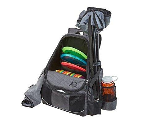 AGame Disc Golf Backpack Bag with Adjustable shoulder straps by AGame