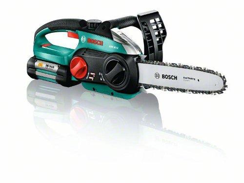 Bosch DIY Kettensäge AKE 30 LI, Akku, Ladegerät, 80 ml Kettensägenöl, Karton (36 V, 2,6 Ah, 5,2 kg)