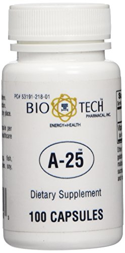 BioTech Pharmacal - A-25 (Vitamin A) - 100 Count