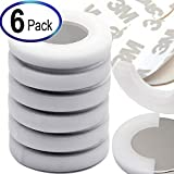 "Powerful Neodymium Disc Magnets 1.26x1/8"" w/ 3M Adhesives, the Best Non-Shattering Packaged Rare Earth Disc Magnet for Home, School & Office. Great for Science, Crafting, DIY & Magnetic Therapy. 6 PC"