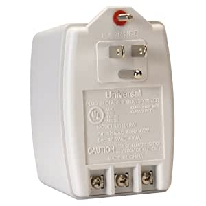 Universal UB1640W 16.5 VAC 40VA Plug-In Wall Transformer