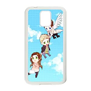 Winfors SPN Supernatural Phone Case For Samsung Galaxy S5 i9600 [Pattern-4]