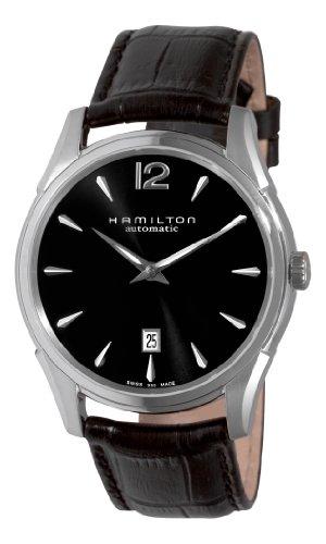 Rolex Hamilton Men's H38615735 Jazzmaster Slim Black Dial...