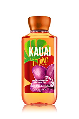 Bath & Body Works Shea & Vitamin E Shower Gel Kauai Flower - Kauai Shopping On