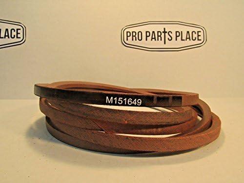 Amazon.com : Pro Parts Place OEM SPEC Replacement Deck Belt ...