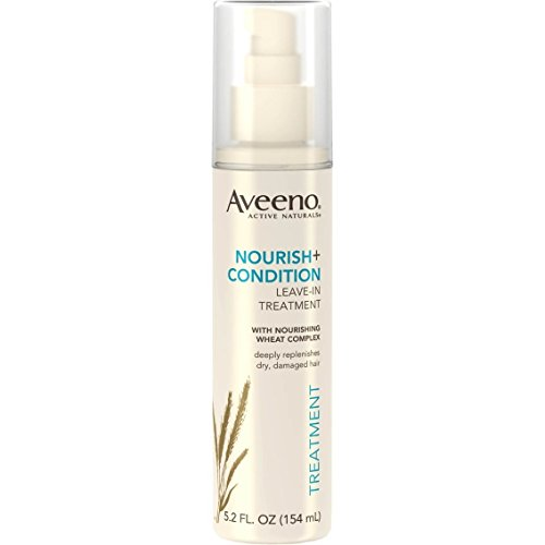 Aveeno Active Naturals Leave-In Treatment - Nourish + Condition - Net Wt. 5.2 FL OZ (154 mL) Each - Pack of 2