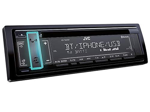 JVC KD-T801BT 1-DIN Autoradio mit Bluetooth CD MP3 f/ür Hyundai Tucson JM 2005-2010 schwarz