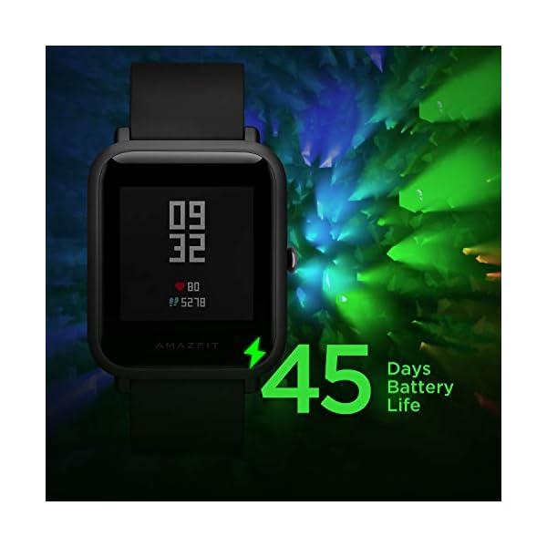 41pTUfb0bDL Amazfit Bip Lite Smart Watch (Black)