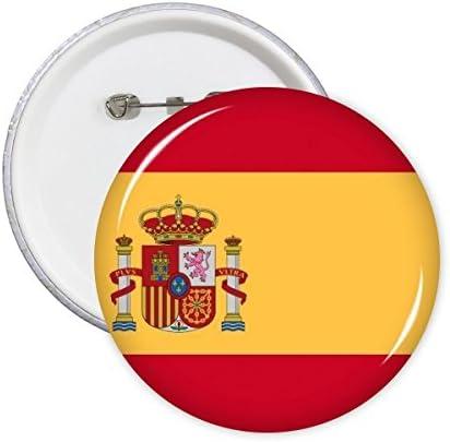 DIYthinker España Nacional Bandera Europa país símbolo patrón ...