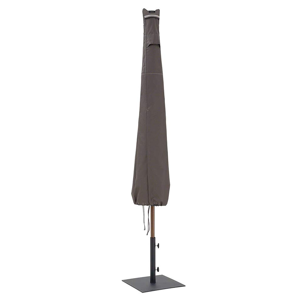 cheerfullus Garden Patio Umbrella Cover for 6-11ft Umbrella Outdoor Dustproof Waterproof Parasol Cover with Zipper