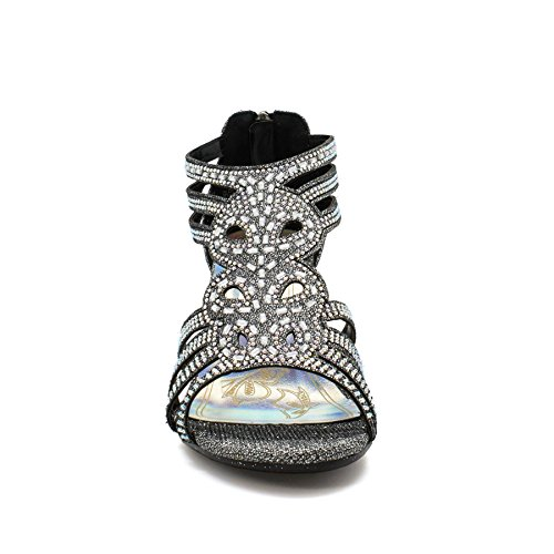 London Footwear - Zapatos de tacón  mujer negro