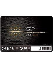 "Silicon Power 1TB SSD 3D NAND TLC A58 Performance Boost SATA III 2.5"" 7mm (0.28"") Internal Solid State Drive SU001TBSS3A58A25CA"