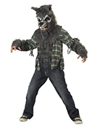Howling At The Moon Child Costume, Size Large